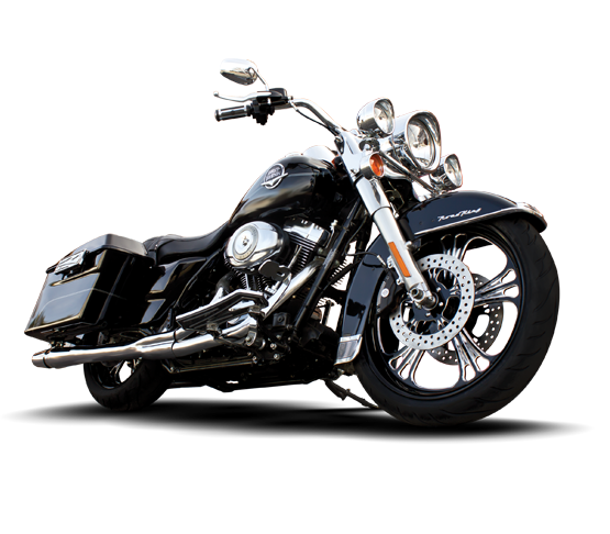 Deluxe Custom Motorcycle Wheel - Custom Motorcycle Rims