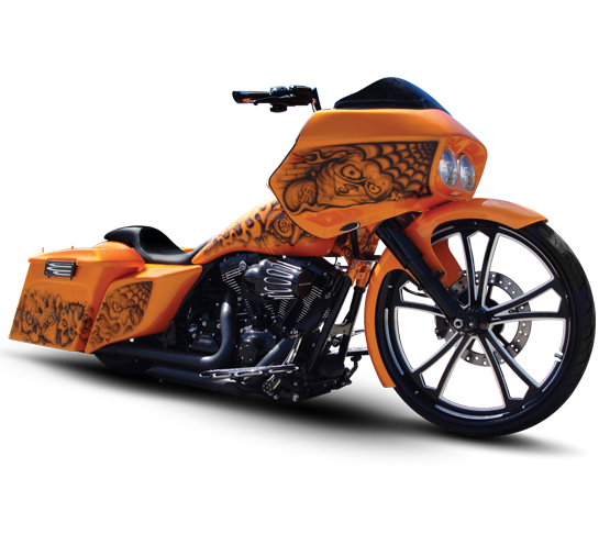 Sage Motorcycle Wheel - Custom Motorcycle Rims