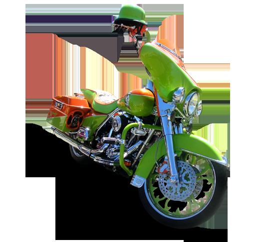 Thunder Motorcycle Wheel - Custom Motorcycle Rims