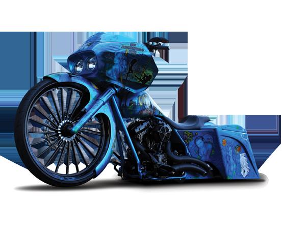 Twister Daddy Motorcycle Wheel - Custom Motorcycle Rims