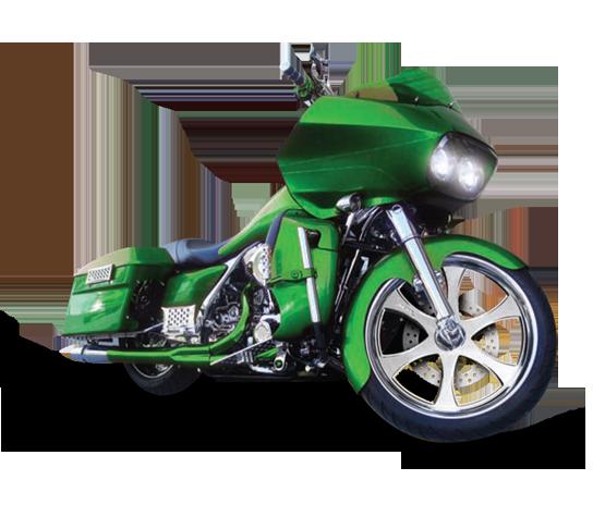 Unique Motorcycle Wheel - Custom Motorcycle Rims