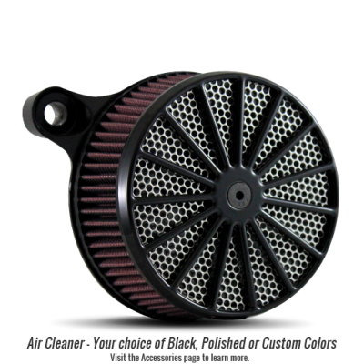 Black Rim, Black Hub, Hi Polished Spoke with Chrome Nipple