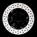 3D Motorcycle Rotor in Black