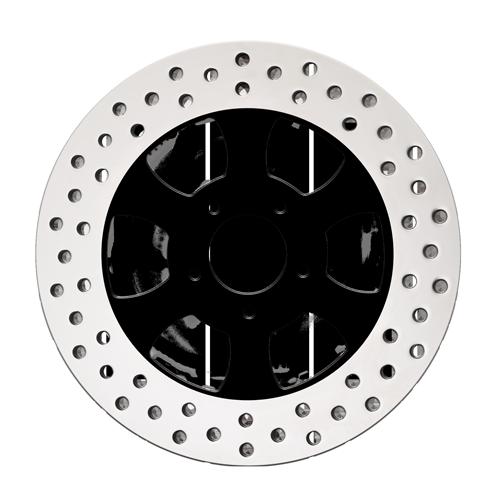 3D Black Rotor