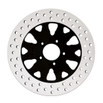 Anaconda Motorcycle Rotor in Black