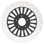 Billet Daddy Motorcycle Rotors in Black