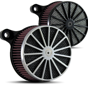 Big Daddy Big Phat Daddy Air Cleaner in Polished and Black