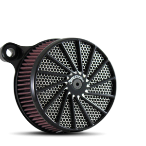 Twister Daddy Air Cleaner in Polished and Black