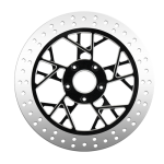 Labyrinth Motorcycle Rotors in Black