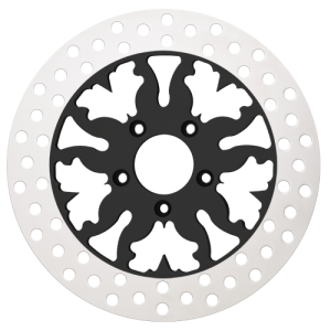 Thunder Motorcycle Rotors in Black