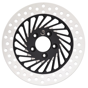 Twister Daddy Motorcycle Rotors in Black