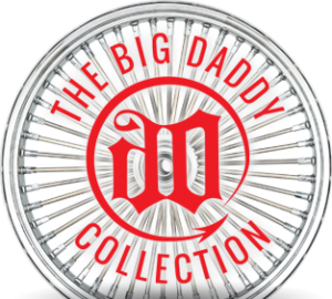 Custom Motorcycle Wheels - The Big Daddy Collection by Sinsiter Wheel