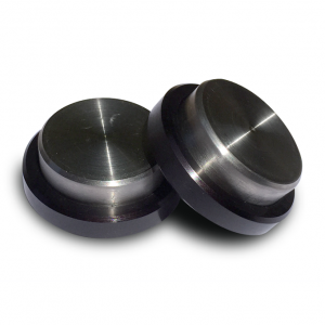 Battistinis Titanium Saddlebag Slider Pucks